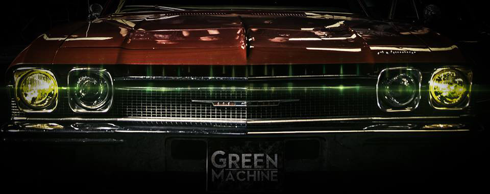 Green Machine Titelbild